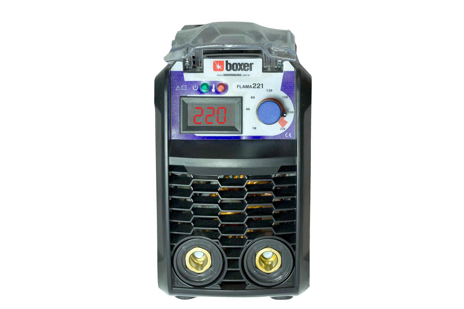 Máquina de Solda Inversora 220A FLAMA 221 220V