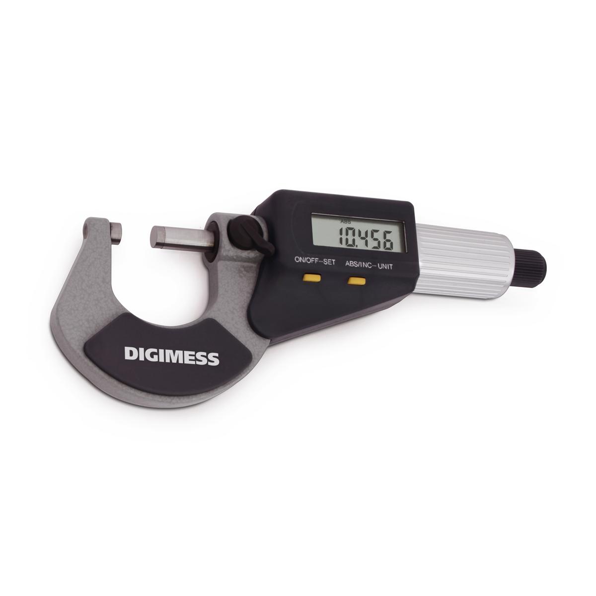 Micrometro Externo Digital 0-25mm com Proteção IP40 110.284