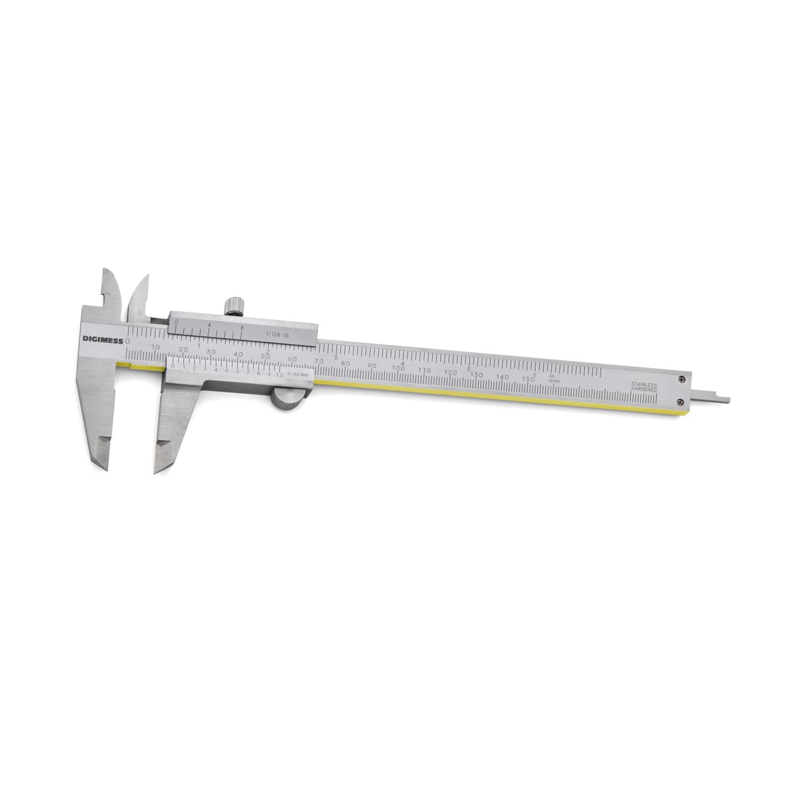 Paquimetro Universal 150mm/6' com Guias de Titanio Digimess 100.0...