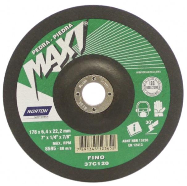 Disco de Desbaste Maxi Pedras Norton
