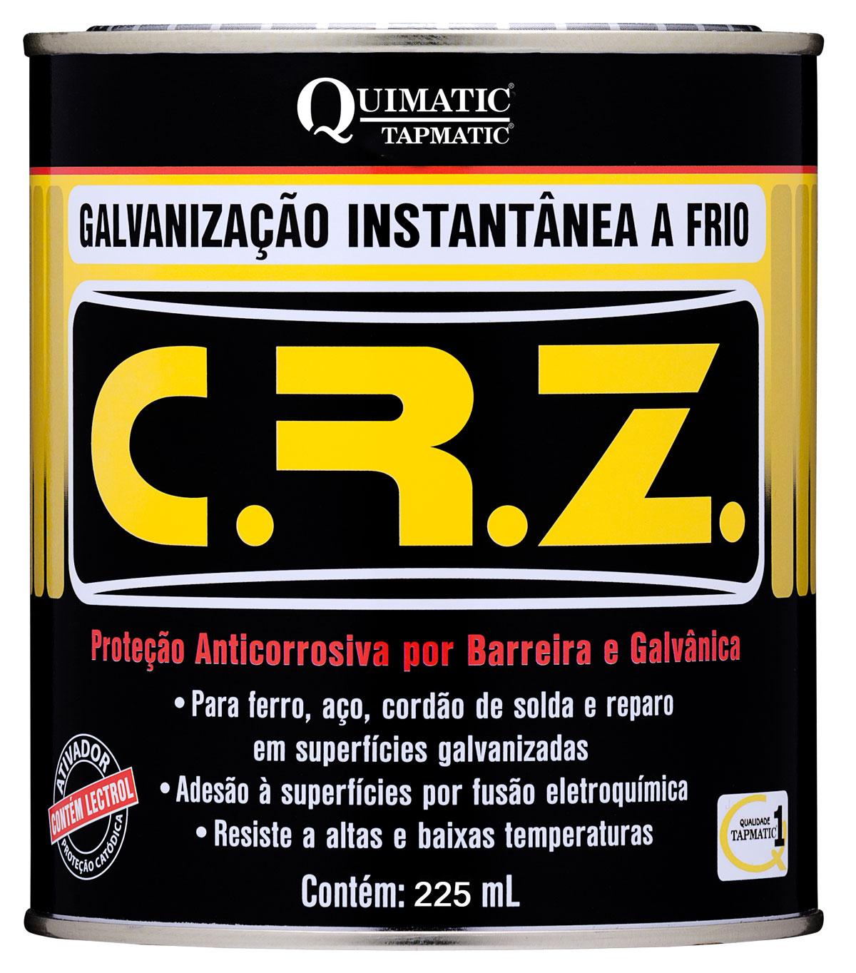 CRZ Galvanização Instantânea a Frio 225 ML Quimatic