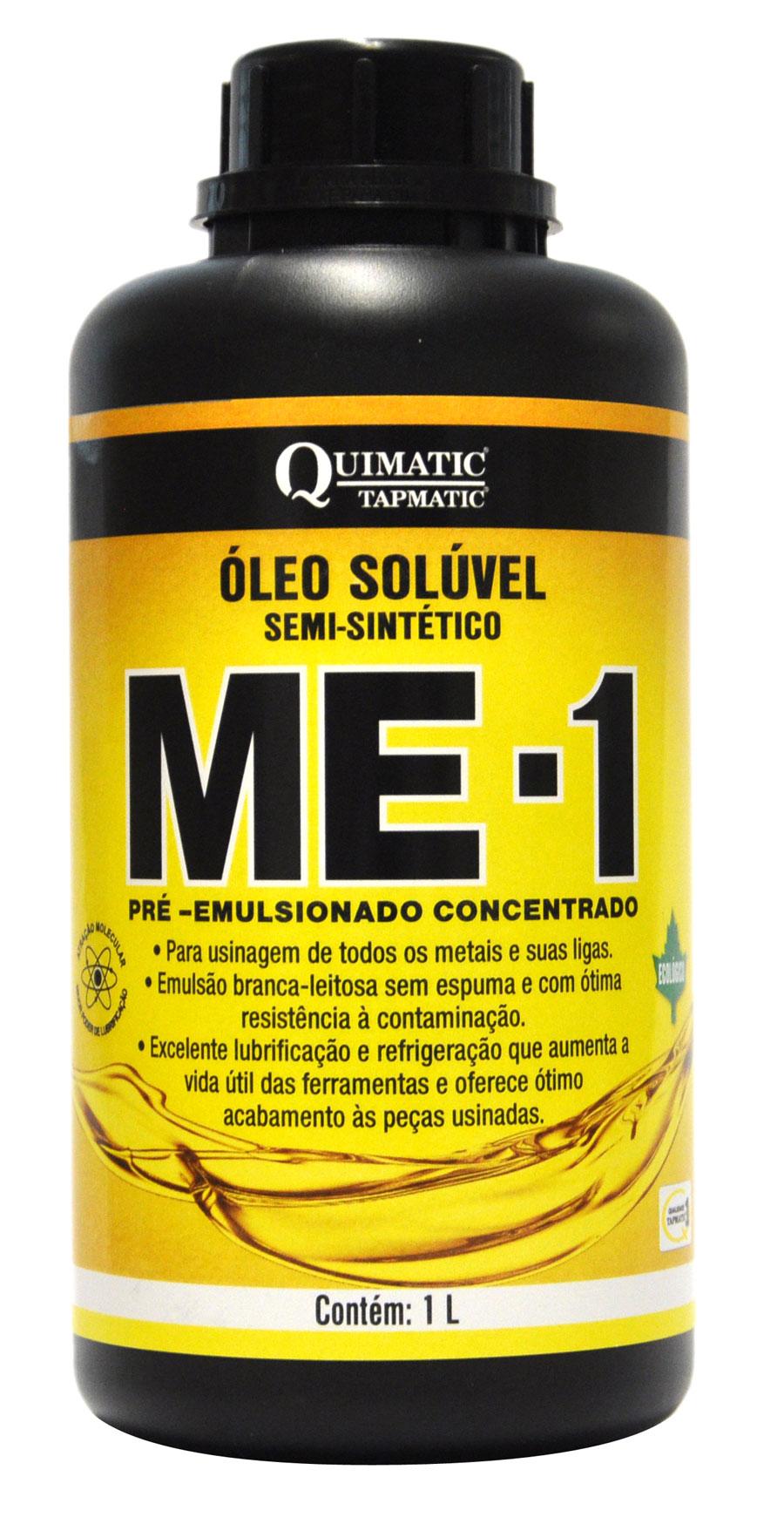 Óleo Solúvel Semissintético Ecológico 1 Litro ME-1