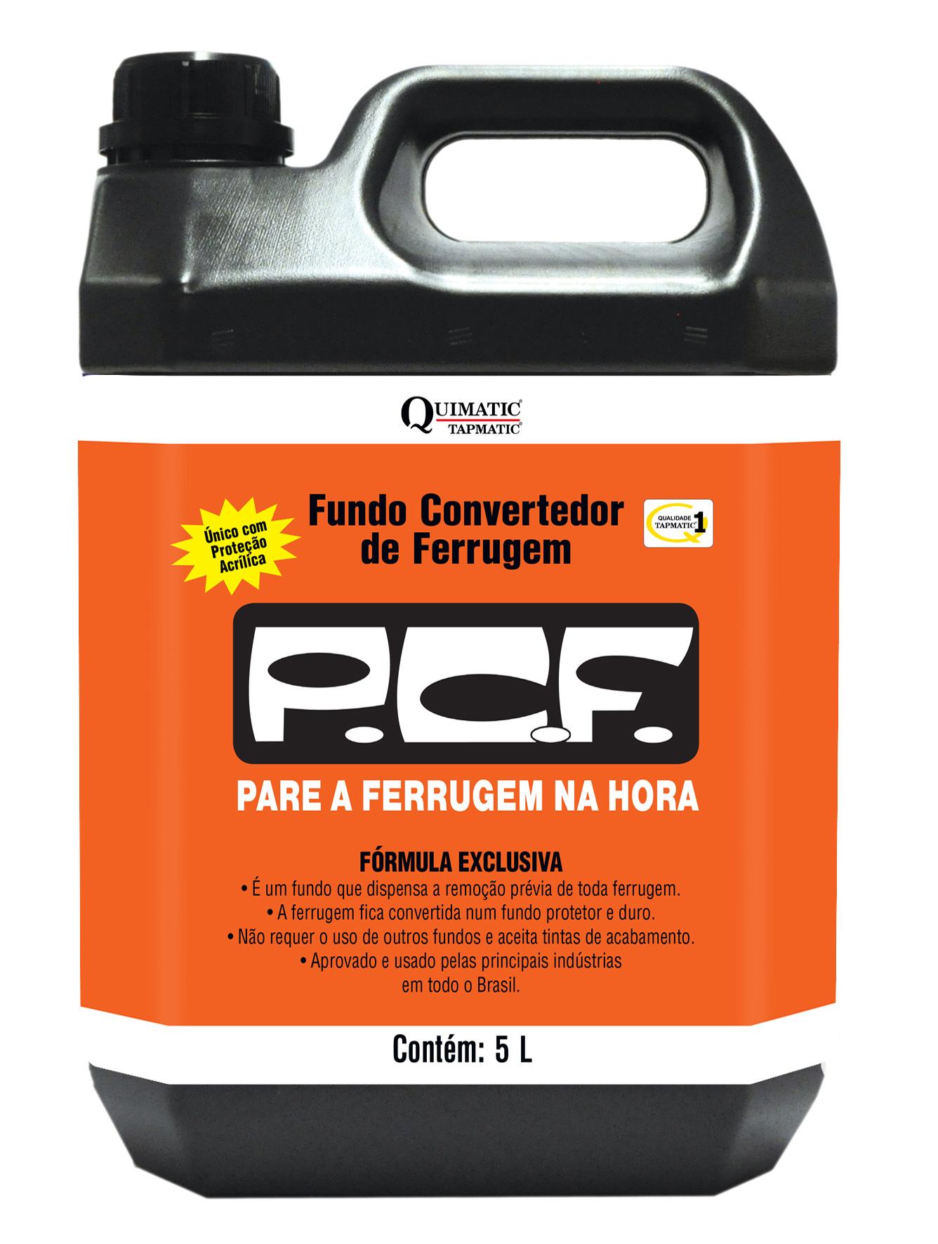 Fundo Convertedor de Ferrugem P. C. F. 5 Litros