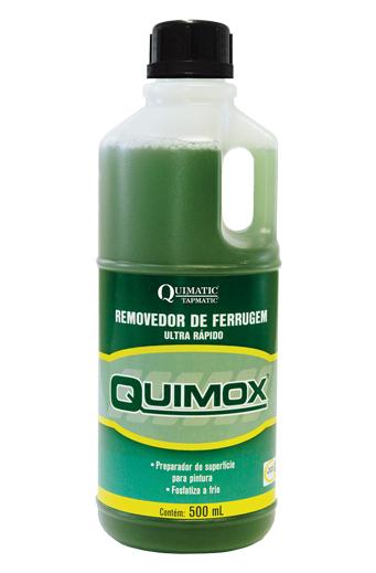 Removedor de Ferrugem Ultrarrápido QUIMOX - 500 ML