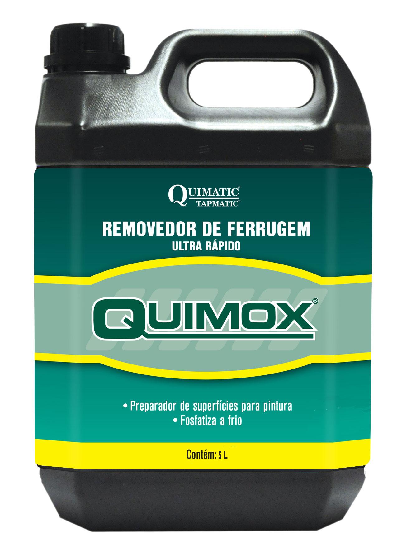 Removedor de Ferrugem Ultrarrápido QUIMOX - 5 Litros