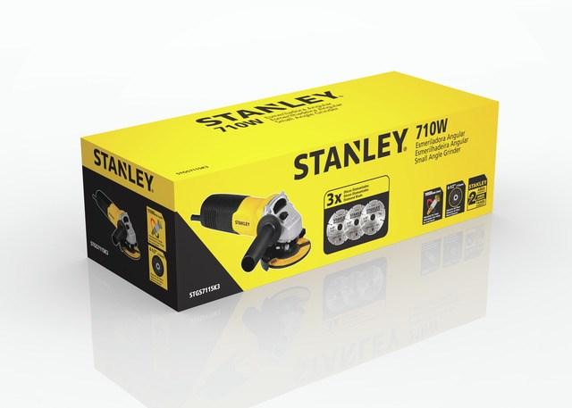 Esmerilhadeira Angular 4-1/2 Pol. 710W Stanley STGS7115 - 127V_2