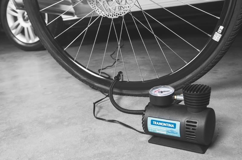 Compressor de Ar Portátil Tramontina para Carros 300 psi 50 W 12 V - 2