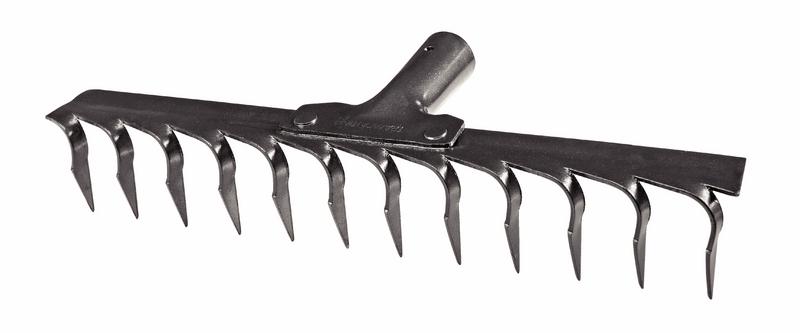 Ancinho Metálico Estampado 12 Dentes Sem Cabo Tramontina