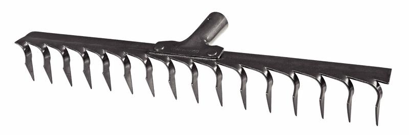 Ancinho Metálico Estampado 16 Dentes Sem Cabo Tramontina