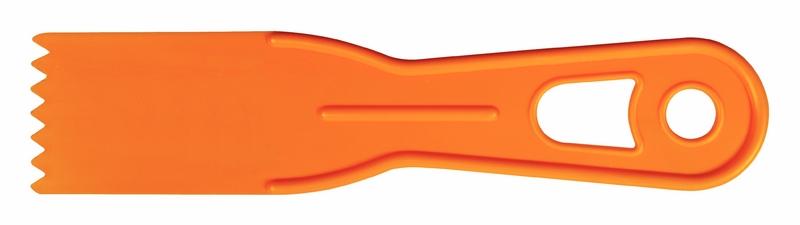 Espátula Plástica Dentada 4 CM Tramontina