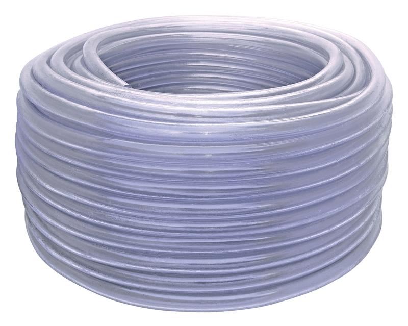 Mangueira Cristal 1 Camada em PVC 50 M Tramontina