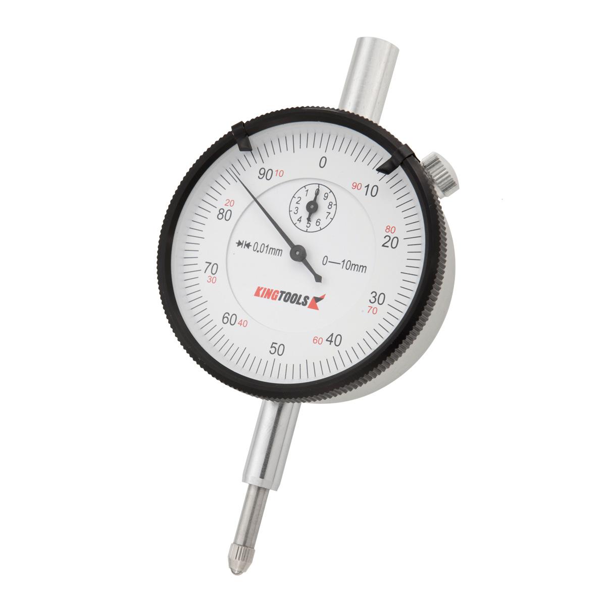 Relógio Comparador 0-10mm em Alumínio Graduação de 0,01mm 506...