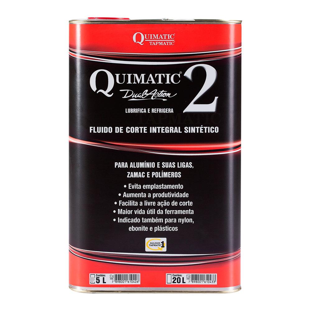 Fluido de Corte para Alumínio 5 L QUIMATIC 2 TAPMATIC