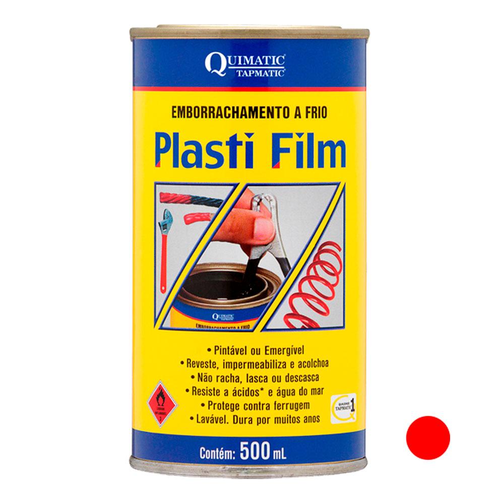 Plasti Film 500ML Vermelho QUIMATIC