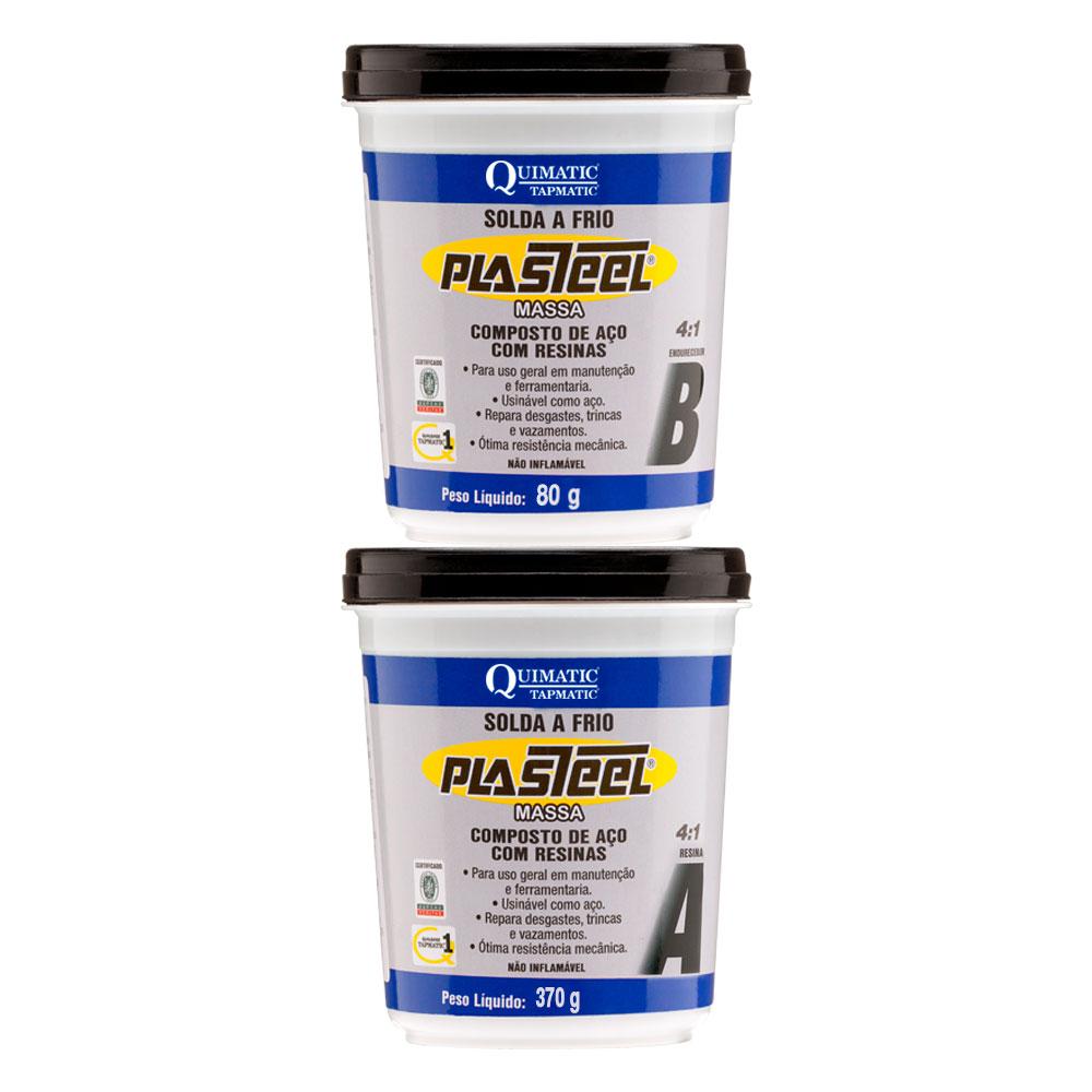 Plasteel Massa 4-1 450g QUIMATIC