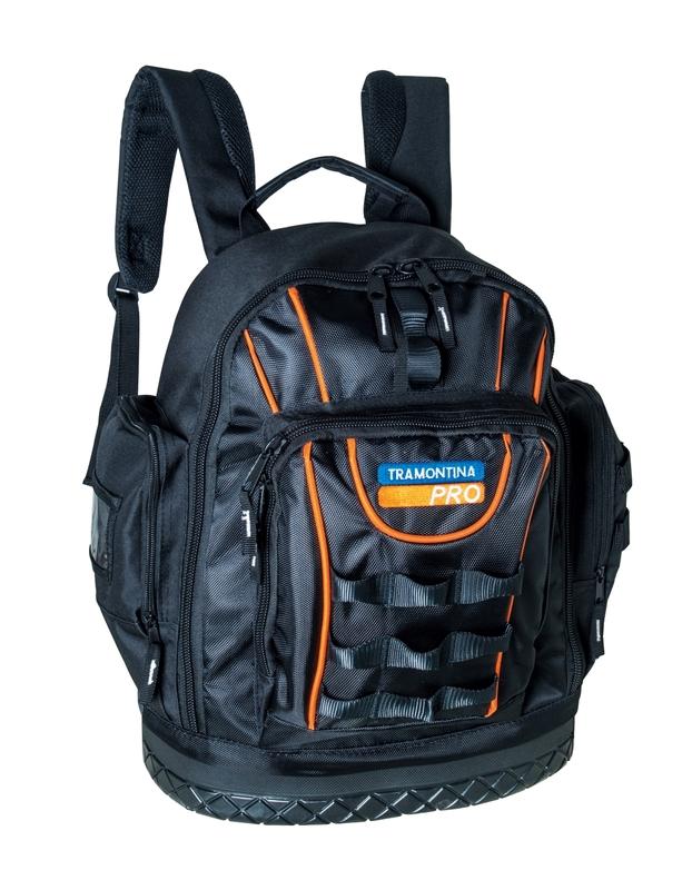 Mochila porta ferramentas com 23 bolsos Tramontina PRO