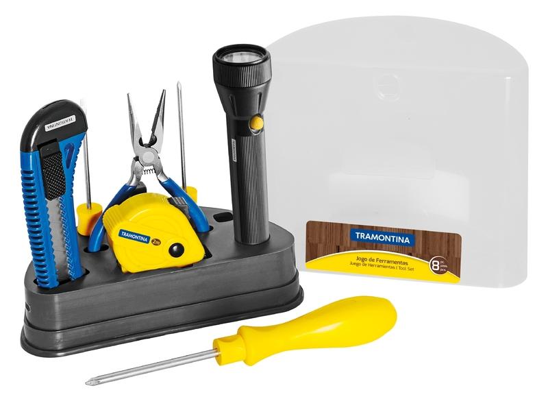 Kit de ferramentas 8 peças Tramontina 41110508