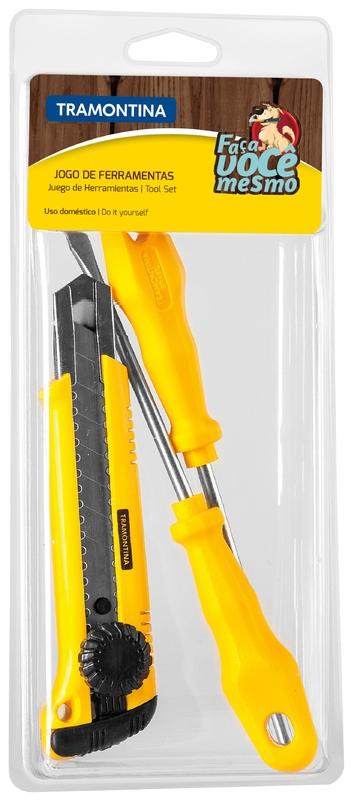 Kit de ferramentas 3 peças Tramontina 43408503