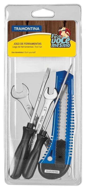 Kit de ferramentas 5 peças Tramontina 43408505