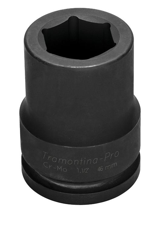 Soquete de Impacto Sextavado Longo 50mm Tramontina 44939050