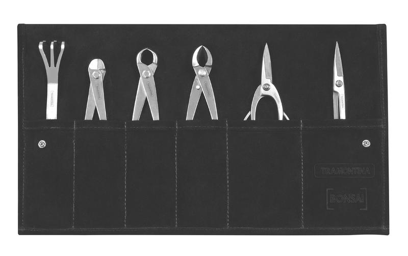 Kit de Ferramentas para bonsai 7 peças em aço inox Tramontina